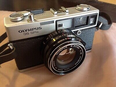 Olympus 35 SPN 35mm Film Rangefinder Camera - Made in Japan