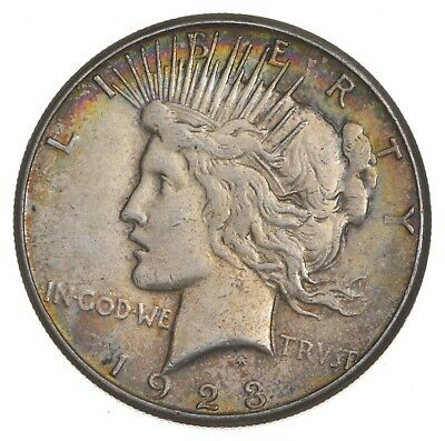 Early - 1923-S - Peace Silver Dollar - 90% US Coin *075
