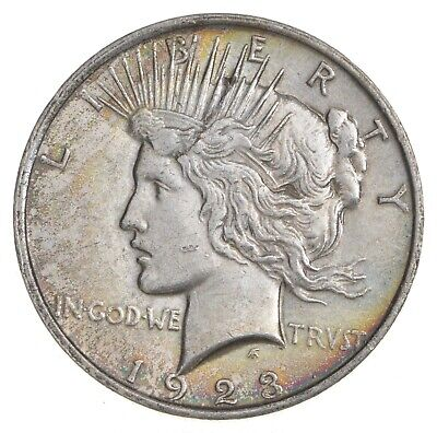 Early - 1923 - Peace Silver Dollar - 90% US Coin *061