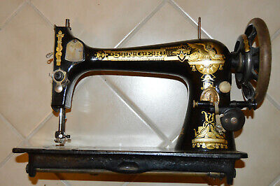 Antique 1902 Singer Manufacturing Sphynx Model 27 Treadle Sewing Machine Head