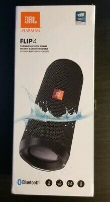 Factory New - JBL Flip 4 Portable Bluetooth Speaker ONLY