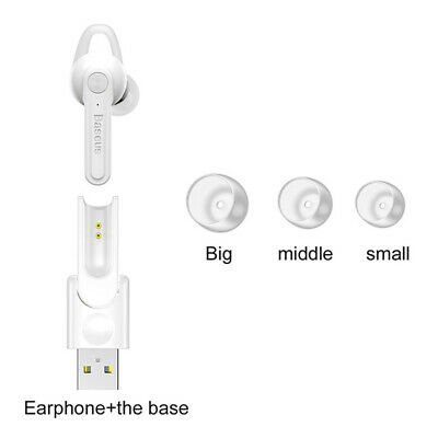 Durable Wireless Bluetooth V4.1 Magnetic Earphone Headphone with Charging Base