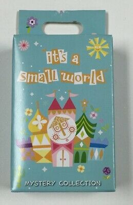 Disney Parks It's a Small World 2 Pin Mystery Box Set Disney Pins Factory Sealed