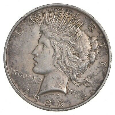 Early - 1923 - Peace Silver Dollar - 90% US Coin *090