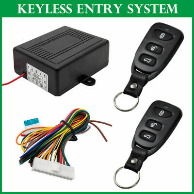 Car Remote Security Control Keyless Entry System Central Door Lock kit Universal