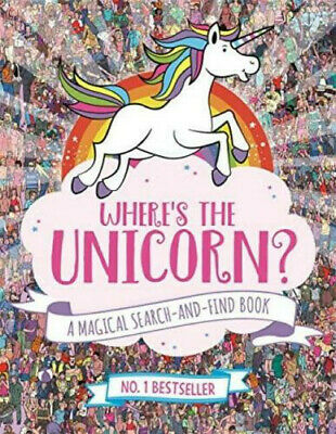 Where's the Unicorn? Fun Search and Find Activity Paperback Book