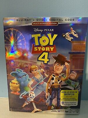 Toy Story 4  [2019]  Blu-ray+DVD; Multi-Screen Edition & Slipcover