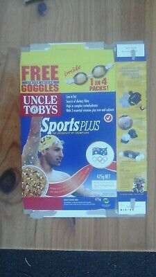 Uncle Tobys Sports Plus Cereal Box Sydney Olympic Games Ian Thorpe