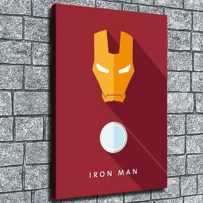 """12""""x18""""Abstract Iron Man Poster HD Canvas print Home decor Room Wall Art Picture"""