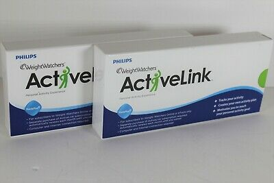 Philips Weight Watchers ACTIVE LINK Personal Activity Experience Lot of 2
