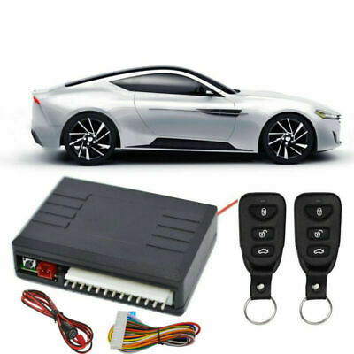 Universal Car Vehicle Remote Central Door Lock Keyless Entry System Security Kit