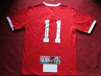 Liverpool Legend Graham Souness Signed Liverpool Home Shirt Jersey - Photo Proof