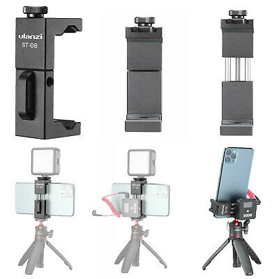 Mounting Mic Clip Bracket Holder w/ Hot Shoe for VLOG RODE Wireless Go Micphone