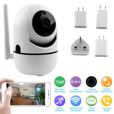 1080P Security Wireless Smart IP Camera Wifi Voice Audio Shop Home Monitor Cams
