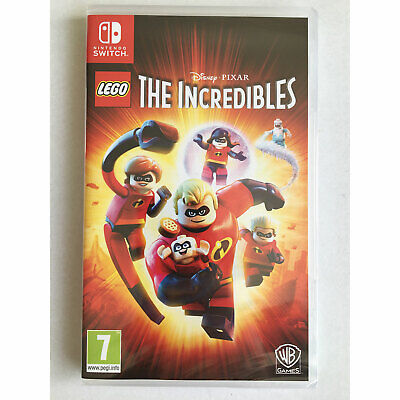 LEGO The Incredibles (Nintendo Switch) New and Sealed