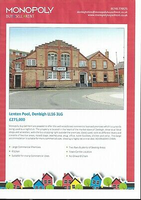 Freehold Commercial Property For Sale - Denbigh North Wales
