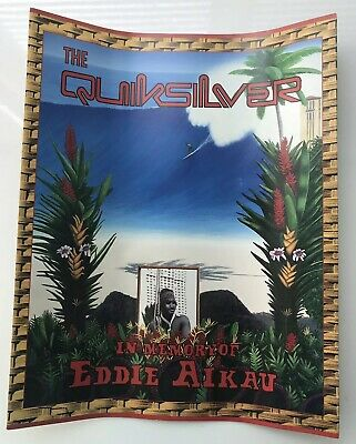 1994 Quiksilver in Memory of Eddie Aikau Surfing Collectable Program - RARE!!