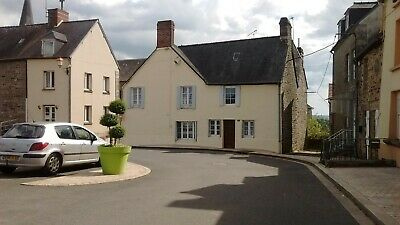 Large detached House with business potential - lively village - Normandy FRANCE
