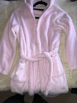 Marks & Spencers / M&S 11-12 Girls Pink Dressing Gown