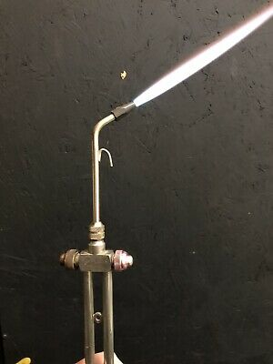 Carlisle Hand Torch Lamp Working Bead Making Glassblowing Gas and Oxygen