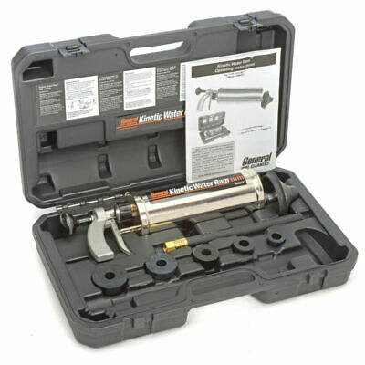 "NEW! General Wire Kinetic Water Ram w/ 4"" Cone-5 Plugs-Caulking Hose & Case!!"