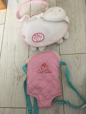 Baby Annabel Changing Bag And ELC Baby Carrier