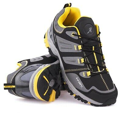Mens Shoes Hiking Trail Shoes Breathable Walking Outdoors Waterproof Trainers Sz