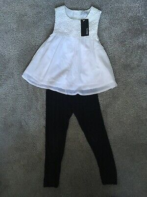 Girls George Outfit Age 5-6 Years Bnwt