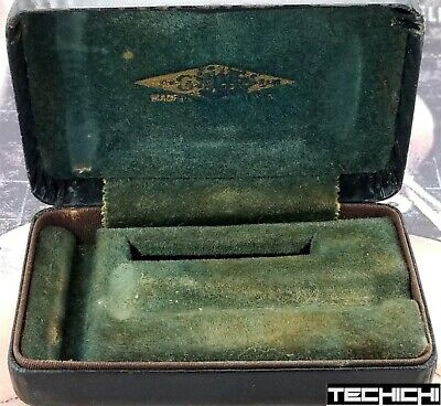 Gillette Fat Handle Tech Case for Vintage Double Edge Safety Razor
