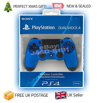 Sony Ps4 Dualshock 4 V2 Controller Black Free Uk Postage Brand New Sealed