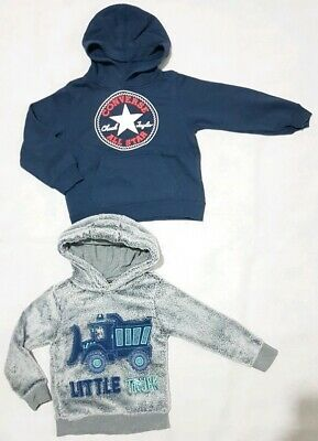 Boys jumper bundle 3-4 and 4-5. Converse and George
