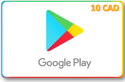 Google Play 10 CAD (Canada) Gift Card