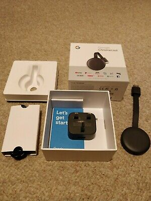 Google Chromecast 3rd Generation Boxed Mint GA00439