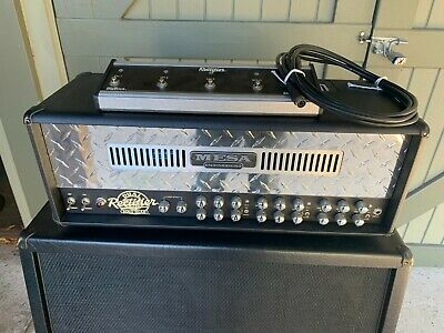 Mesa Boogie Dual Rectifier Solo tube amp head excellent cond.-amplifier for sale