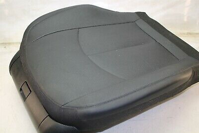 Mercedes W211 E550 07-09 Right Front Passenger Lower Seat Cushion BLACK LEATHER