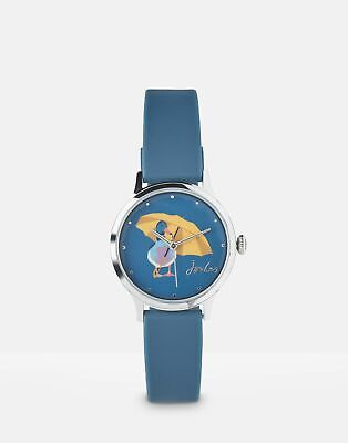 Joules Women Everley   Ladies Silicone Strap Watch in  in One Size