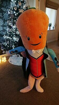Giant Kevin The Carrot Plush Toy-2019 Aldi Official Christmas Bnwt 1 Metre Tall