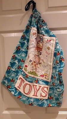 Childs Toy Storage Bag