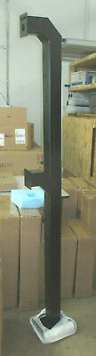 "Access Control Security Badge Reader Dual Stanchion [Arm Heights: 42"" & 72""]"