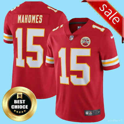 NWT Patrick Mahomes 15 Kansas City Chiefs Red Stitched Men's Jersey free shippin