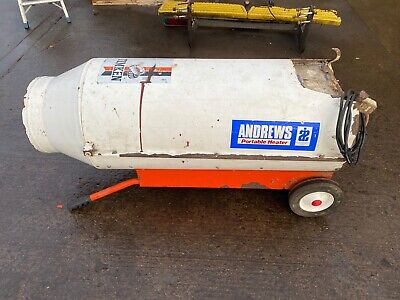 Andrews Portable Gas Heater