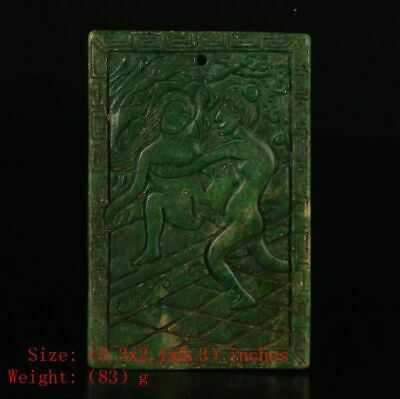 Precious Chinese Jade Pendant Private Custom Collection Old Christma Gift