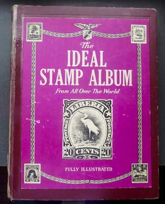 Worldwide Stamp Collection in an Ideal Stamp Album - No Reserve!