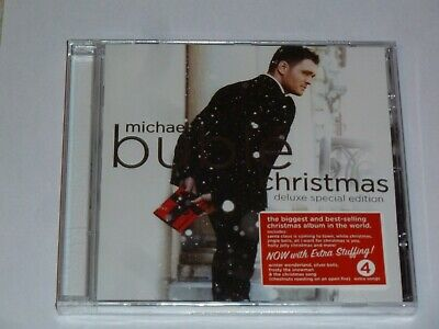 Michael Buble Christmas Uk Deluxe Cd Album, New & Sealed (2012)