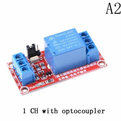 Stable DC 24V TOP New 1 Channel Relay Module High Low Level Triger Optocoupler