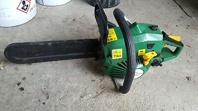 Petrol Chain Saw from b&q used once for 2 hours