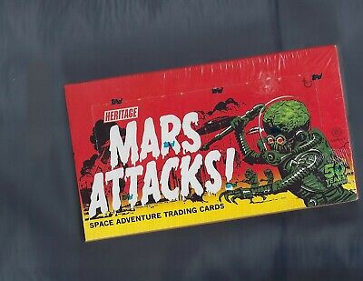 2012 Topps Heritage Mars Attacks Factory Sealed Box  Sketch Card Per Box !