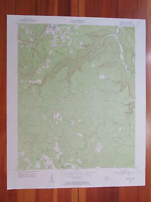 Spencer Tennessee 1955 Original Vintage USGS Topo Map