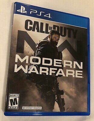 Call of Duty Modern Warfare PS4 PlayStation 4 COD