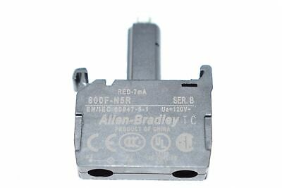 NEW Allen-Bradley 800F-N5R Lamp Module, Integrated LED, 120VAC, Front Latch Moun